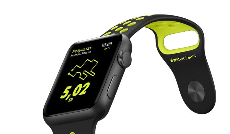 Часы Apple Watch Nike+ поступят в продажу в России в пятницу