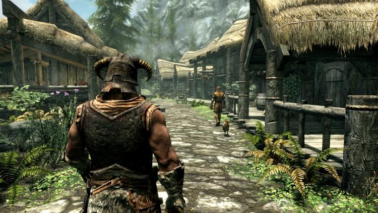 Видео: сравнение Skyrim для PS4 с оригиналом для PS3