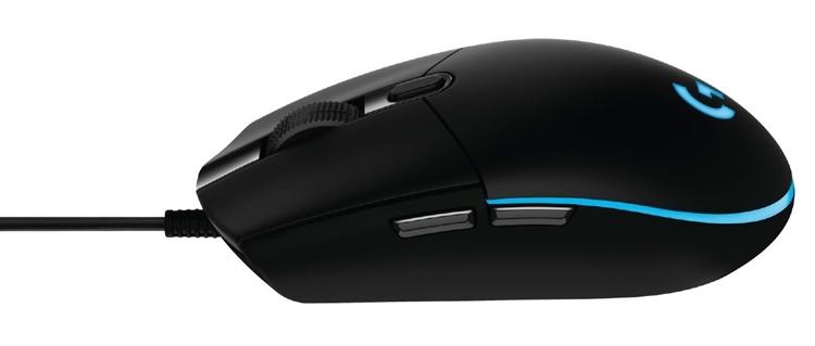 Новая мышь Logitech G Pro для профессиональных киберспортсменов