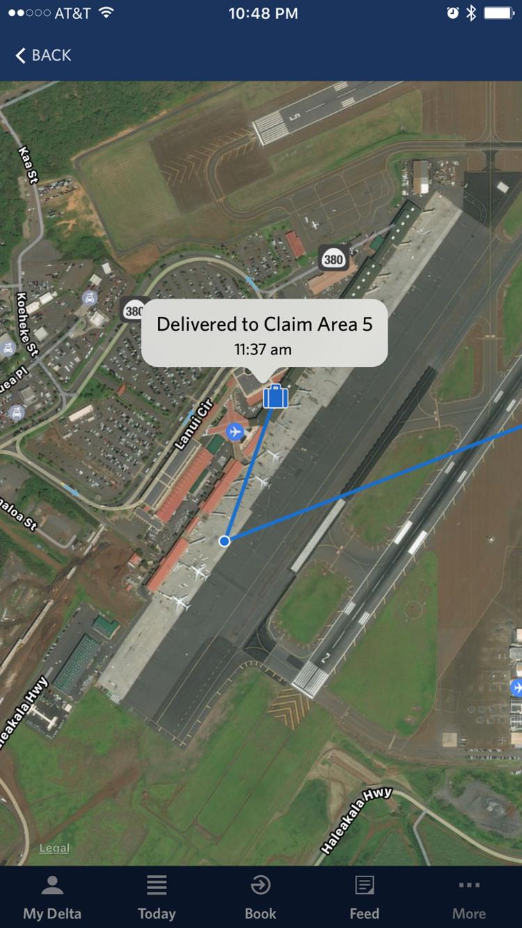 Авиапассажиры смогут следить за багажом на картах Google