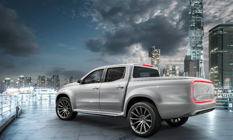 Mercedes-Benz Concept X-Class: пикап премиум-класса показал лицо