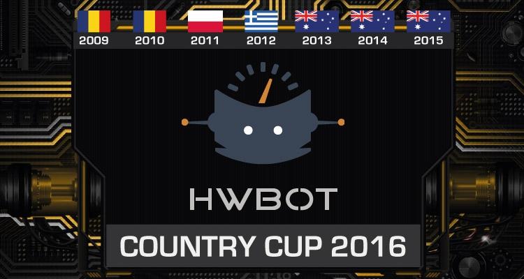 Чемпионат по оверклокингу HWBot Country Cup пройдёт в восьмой раз