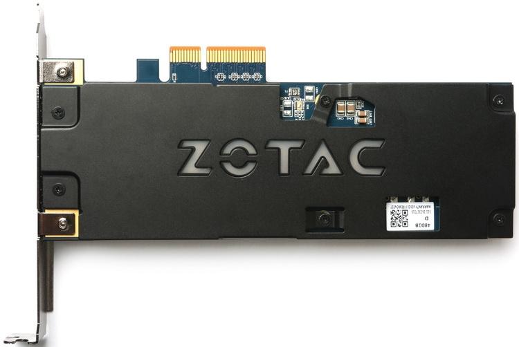 В числе юбилейных продуктов ZOTAC значится и накопитель Sonix