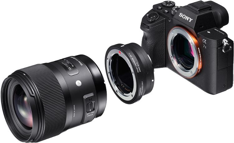 MC-11 позволяет установить объективы Sigma на камеры Sony
