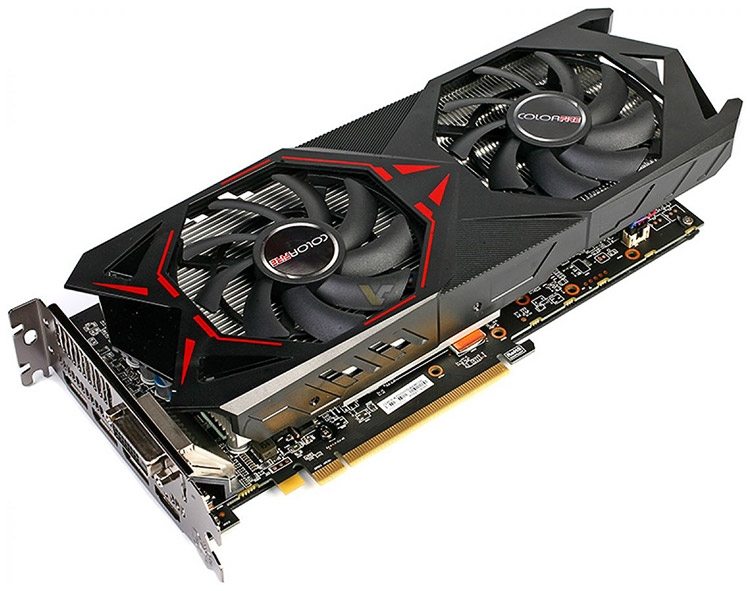 Видеокарта ColorFire Radeon RX 470 4GB