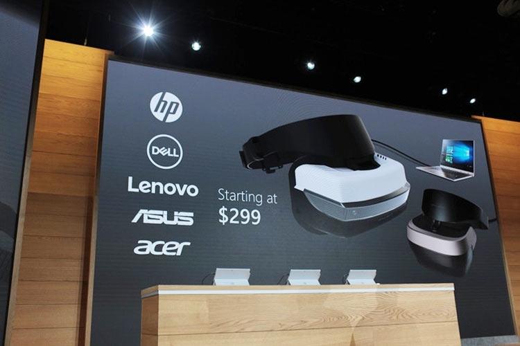 Microsoft расскажет подробнее о VR-шлемах для Windows 10 в декабре