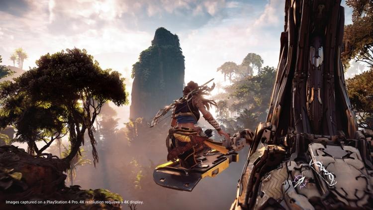 Стали известны подробности версии Horizon: Zero Dawn для PlayStation 4 Pro