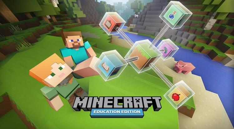 Microsoft выпустила Minecraft для школ