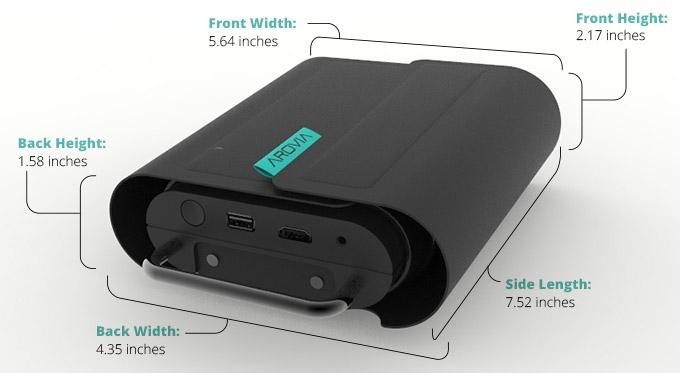 24-дюймовый проектор-дисплей SPUD пользуется успехом на Kickstarter