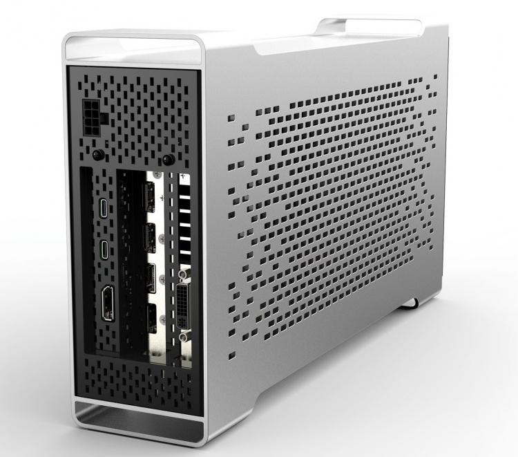 BizonBOX 3 с Thunderbolt 3 сделает любую видеокарту внешней