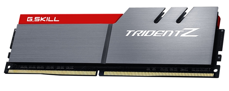 G.Skill представила «самый быстрый» комплект памяти Trident Z DDR4 объёмом 64 Гбайт