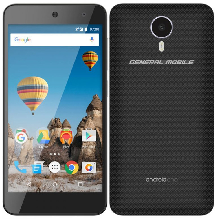 General Mobile GM 5: новый смартфон на платформе Android One