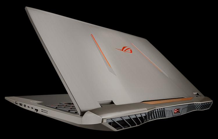 Игровой ноутбук ASUS ROG G701VI получил дисплей с повышенной частотой обновления