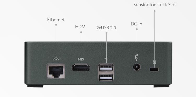 Vorke V2: неттоп с процессором Intel Skylake и платформой Ubuntu
