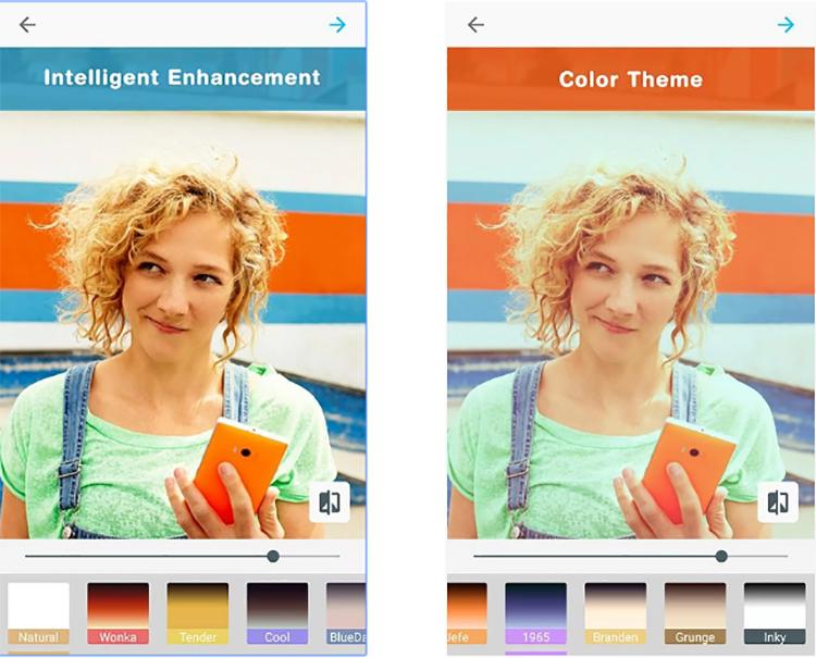 «Умное»селфи-приложение от Microsoft вышло на Android