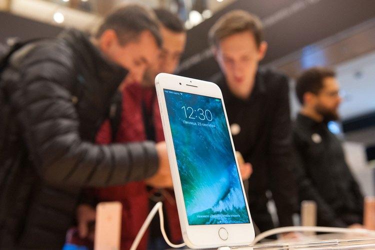 Данные по продажамiPhone 7 в России за первые восемь дней пребывания на рынке