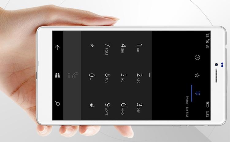 Фаблет Cube WP10 выполнен на платформе Windows 10 Mobile