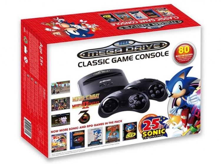 Приставка Sega Mega Drive вернулась на рынок