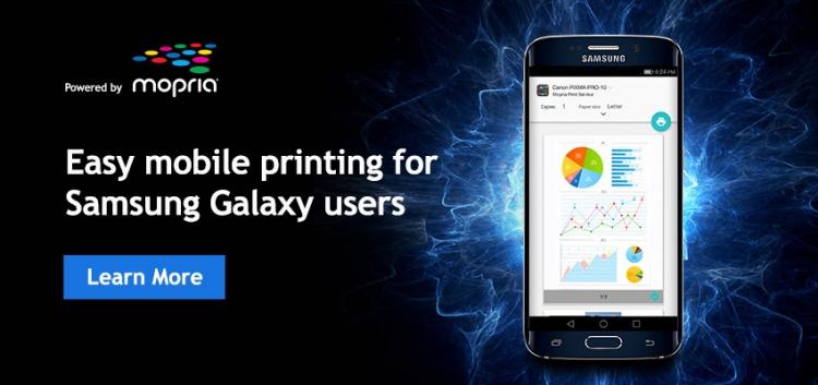 Samsung интегрировала 88-миллионную базу принтеров Mopria в свою службу печати