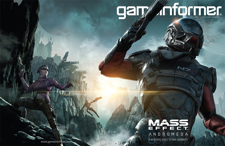 Новая система классов, микроплатежи и другие детали Mass Effect: Andromeda из Game Informer