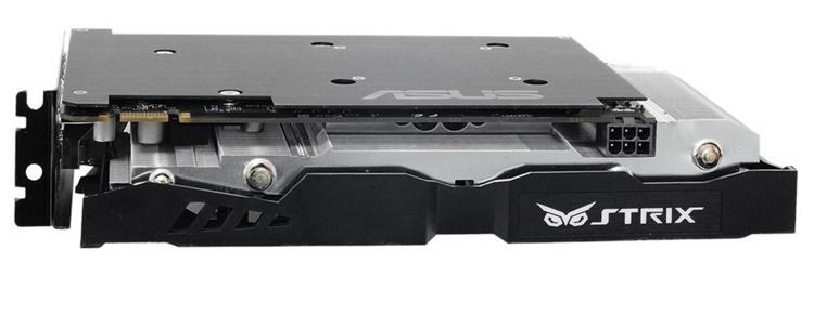 ASUS выпустила новый ускоритель GeForce GTX 1060 серии Strix с разгоном