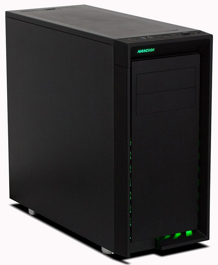 Корпус Nanoxia CoolForce 2 Rev. B предназначен для энтузиастов
