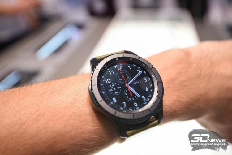 «Умные» часы Samsung Gear S3 уже в продаже в Южной Корее, в других странах — с 18 ноября