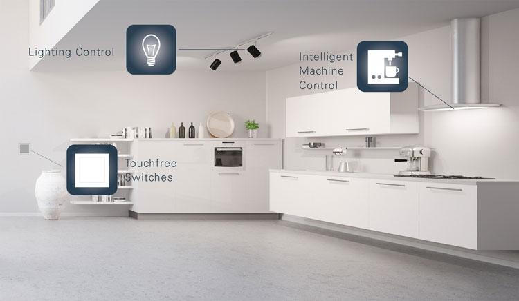 Infineon представила «бытовые» радары для бесконтактного управления электроникой