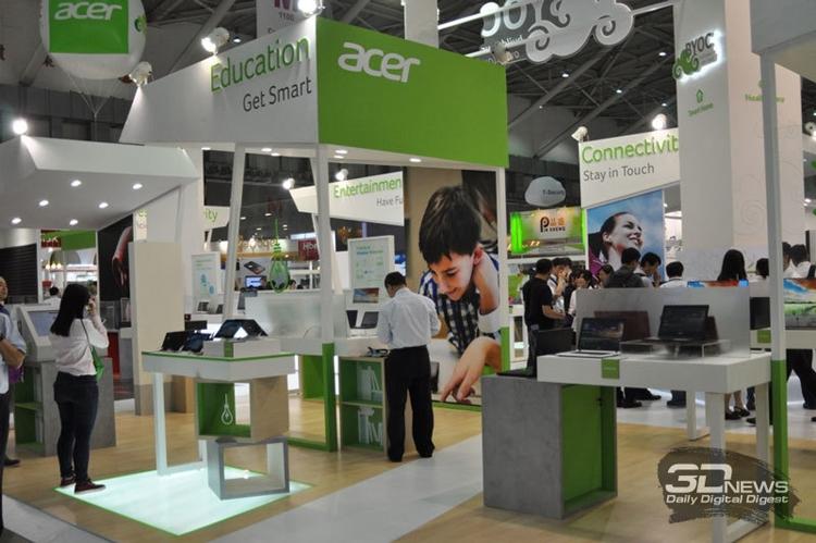 Acer покажет на CES 2017 изогнутый монитор с функцией отслеживания взгляда