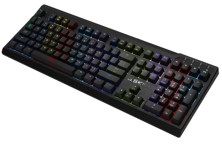Клавиатура G.Skill Ripjaws KM570 RGB позволяет настраивать подсветку каждой кнопки