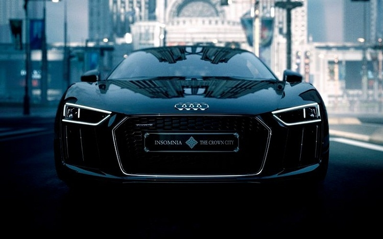 Audi представила машину, стилизованную под Final Fantasy XV
