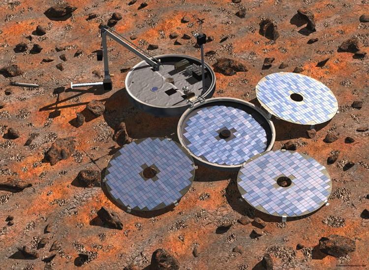 Не вышедший на связь марсианский аппарат Beagle 2 мог совершить успешную посадку