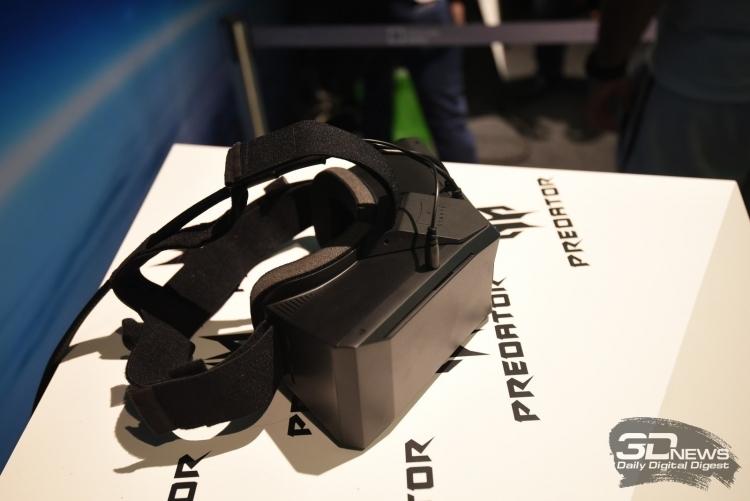 Acer усиливает связи с Tobii для разработки VR-устройств с отслеживанием взгляда