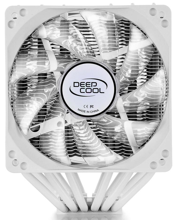 Deepcool NEPTWIN White: «зимний» кулер для просторных корпусов