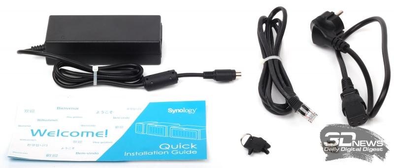 Комплект поставки Synology DS716+II
