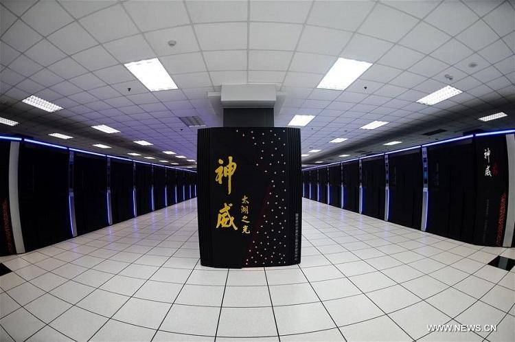 Самый быстрый суперкомпьютер в мире Sunway TaihuLight