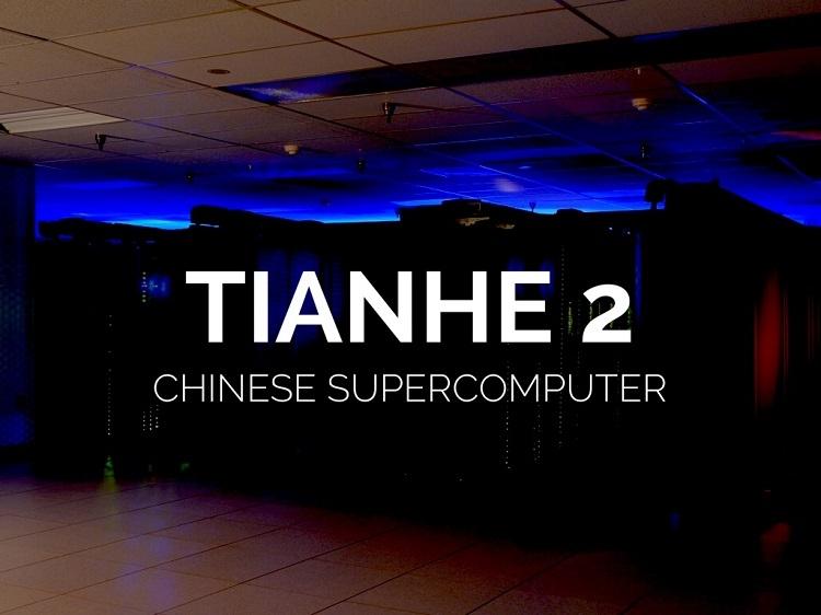 Другой суперкомпьютер из Китая Tianhe-2 в этом году занял вторую позицию