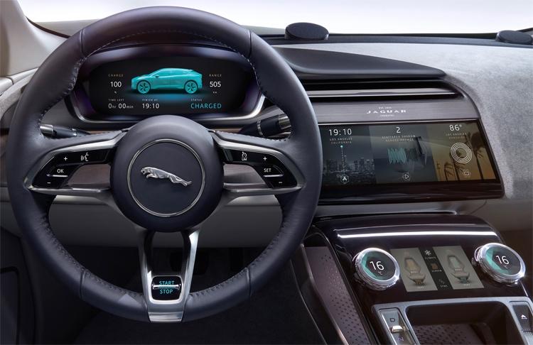 "Jaguar I-PACE Concept: электрический кроссовер премиум-класса"""