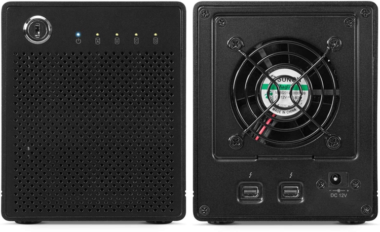 Вместимость хранилищ OWC SSD Thunderbay 4 MiniRAIDдостигает 40 Тбайт