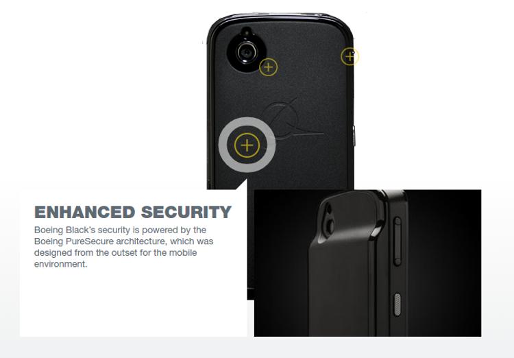 Секретные агенты начали тестировать смартфон Boeing Black