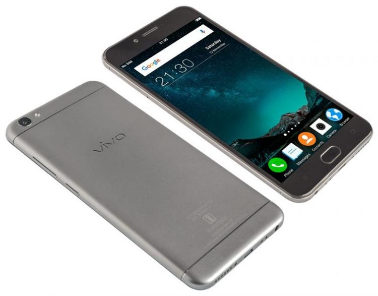 Дебют смартфона Vivo V5: фронтальная 20-Мп камера со вспышкой и режим разделения экрана