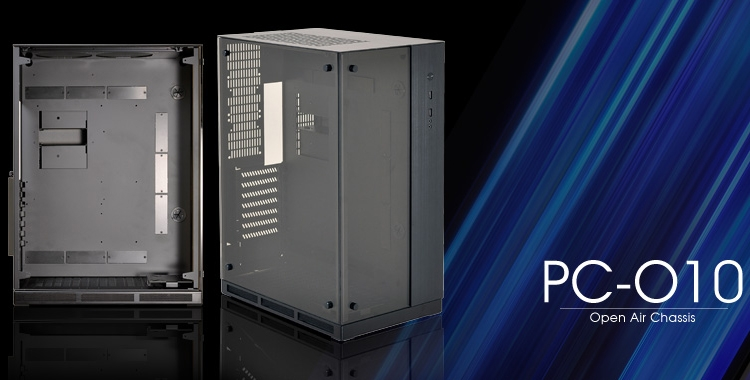 Lian-Li PC-O10: двухсекционный корпус из металла и стекла