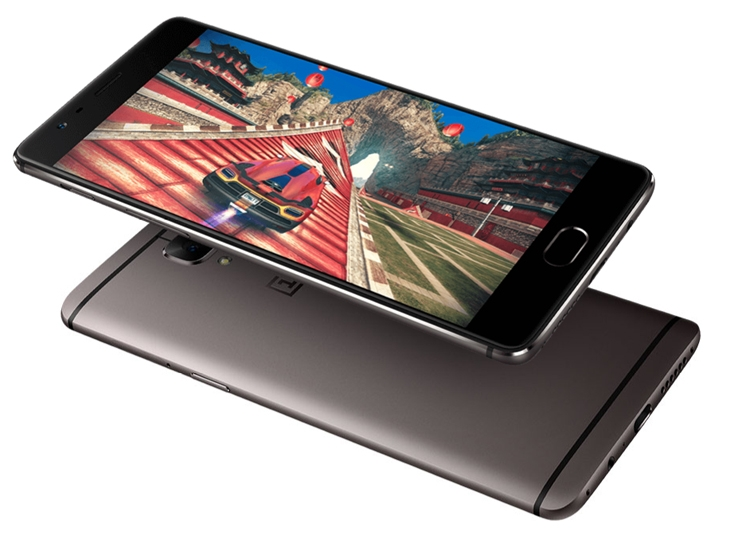 "OnePlus 3T: смартфон с 5,5"" экраном Full HD, чипом Snapdragon 821 и двумя 16-Мп камерами"