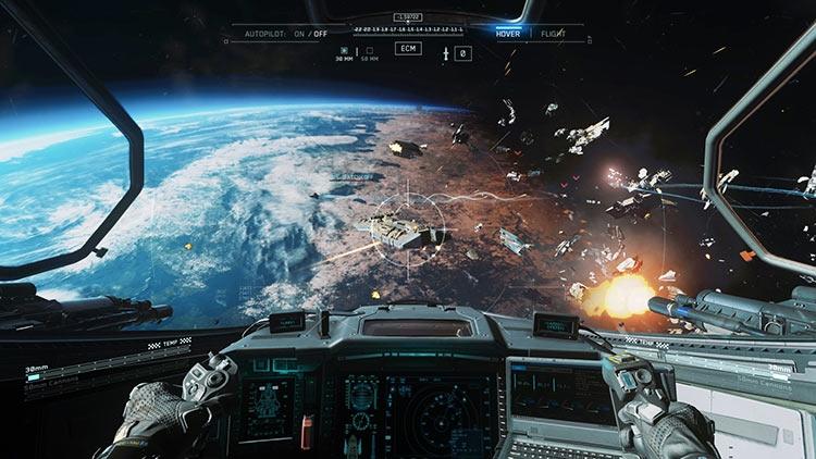 Видео: производительность Call of Duty: Infinite Warfare в 4K на PS4 Pro