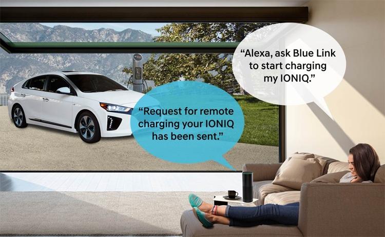 Автомобили Hyundai получили поддержку управления с помощью голосового ассистента Amazon Alexa