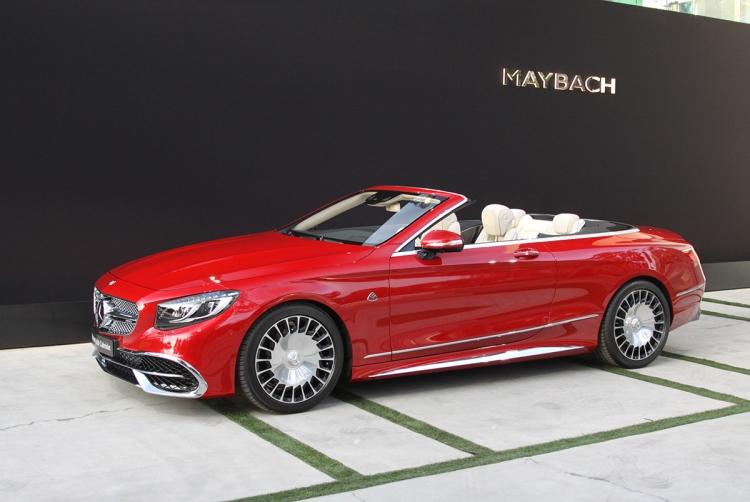 Представлен первый кабриолет Mercedes-Maybach