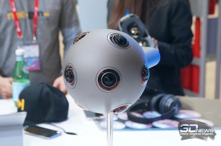 Sony возьмёт на вооружение камеры Nokia OZO для создания VR-контента