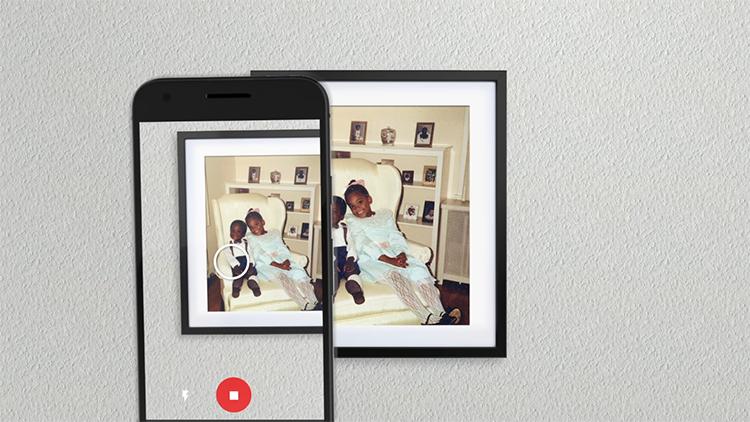 Google представила приложение для сканирования фотографий PhotoScan