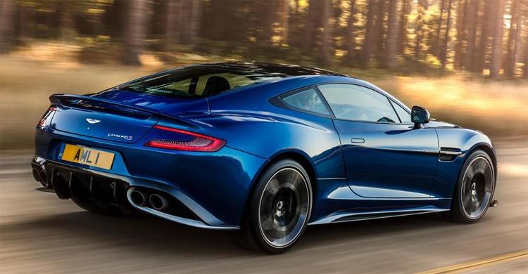 Aston Martin Vanquish S: 600 «лошадей» и ценник от 260 тысяч евро