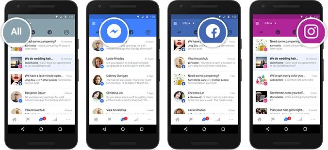 Facebook представила единую платформу для общения компаний с клиентами в социальных сервисах